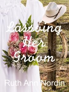 lassoing her groom