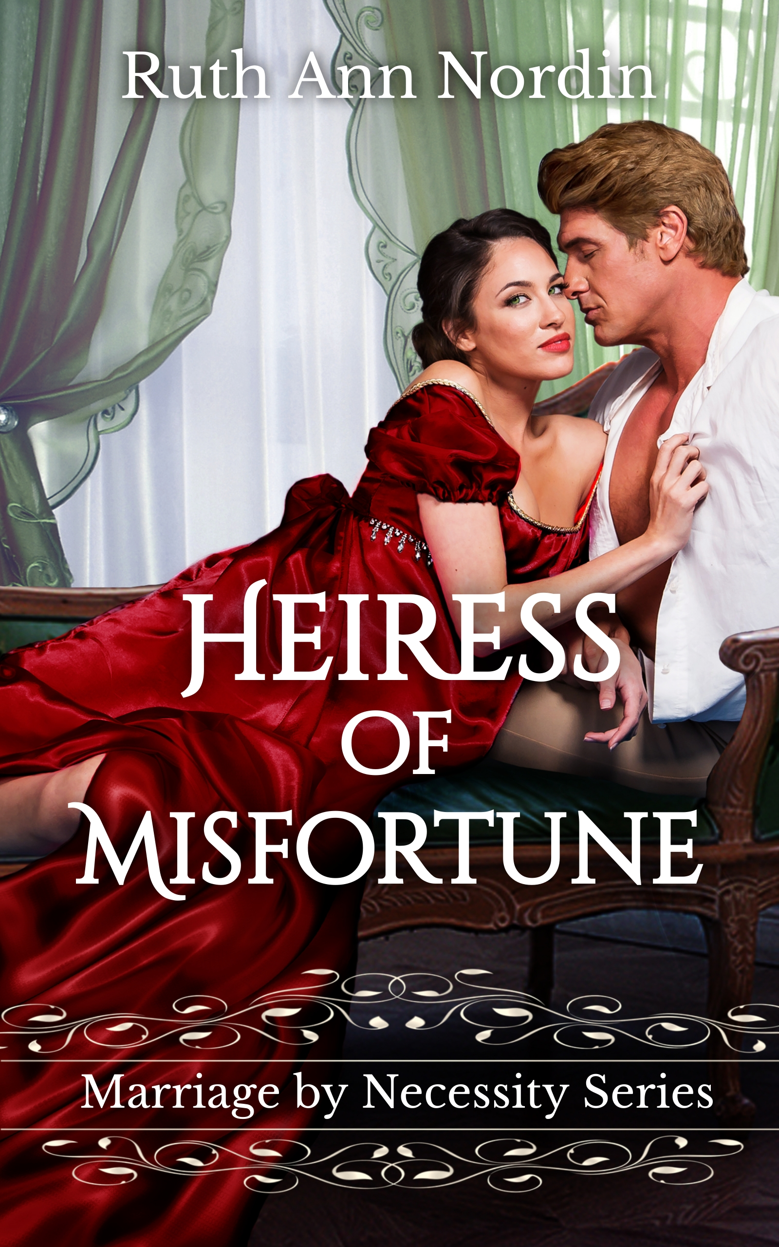 Heiress of Misfortune ebook cover